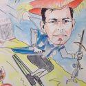 karikatuur-skien-carnaval