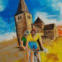 schilderij-figuratief-2006-wielrennen-pancratiustoer