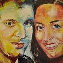 schilderij-figuratief-2013-melanie_jeroen_huwelijk