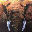 schilderij-figuratief-202003-olifant-zuid-afrika
